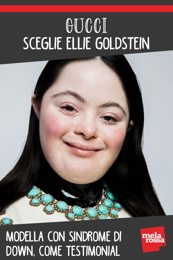 Gucci Ellie Goldstein modella down
