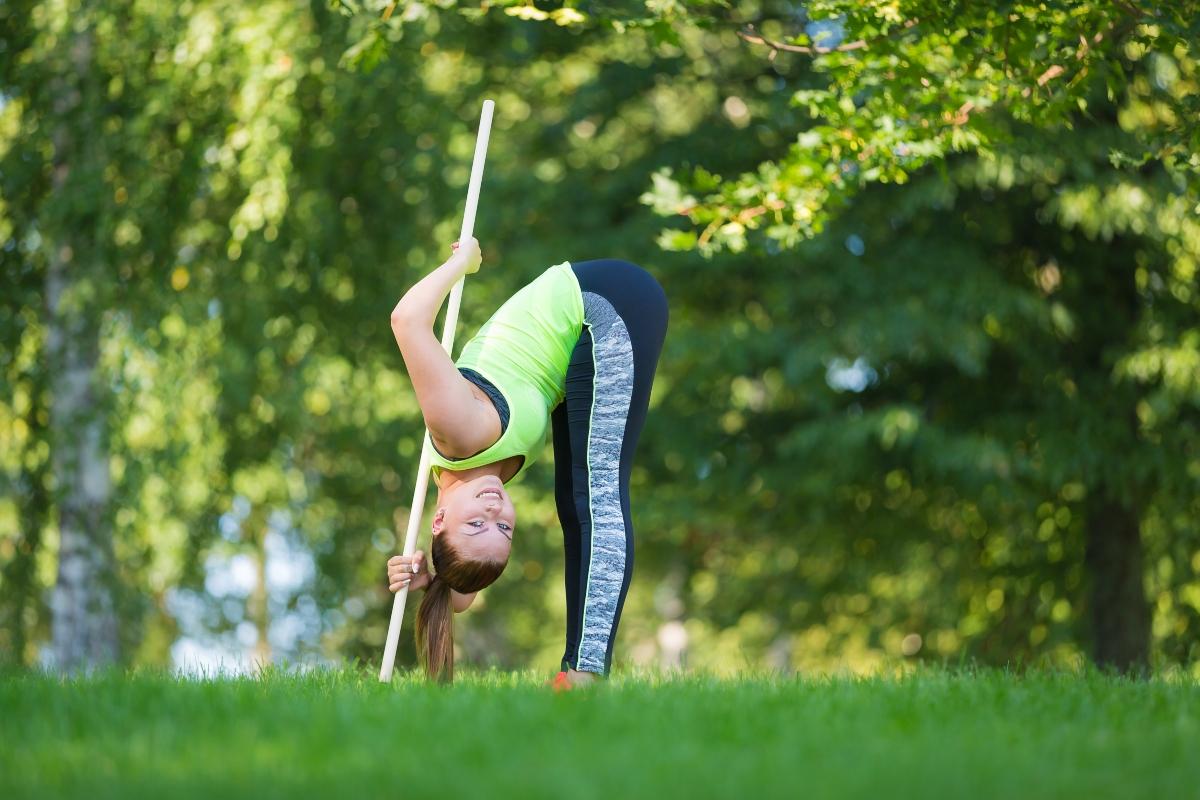 Gymstick: barra fitness per allenarti a casa o al parco