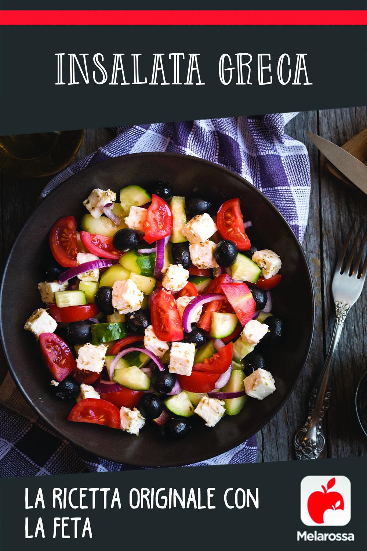 Insalata greca: ricetta originale