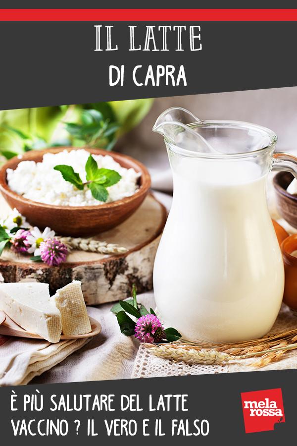 Latte di capra più salutare del latte vaccino
