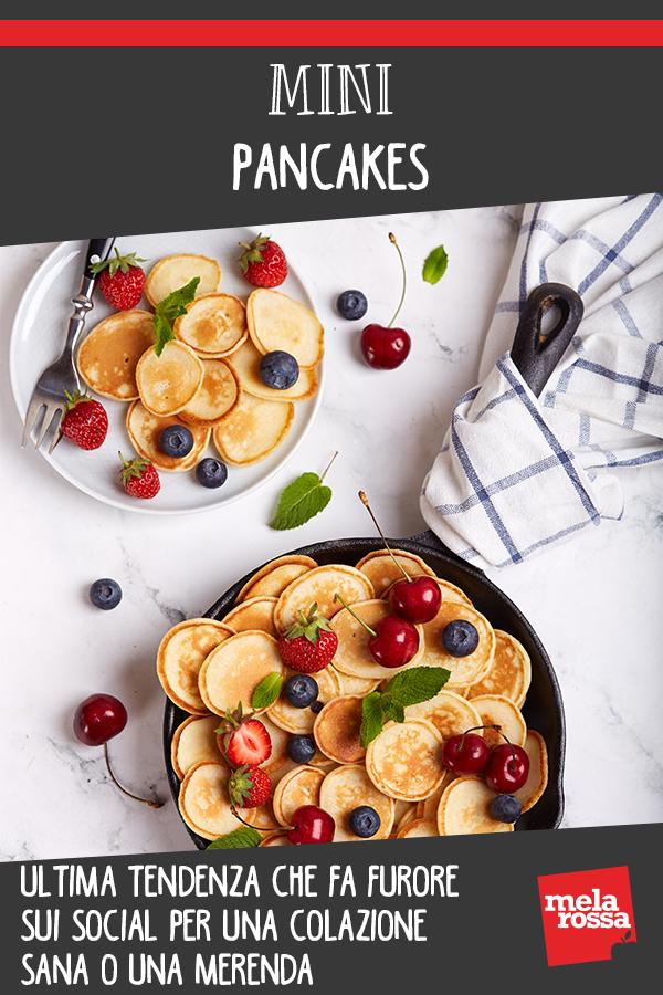 mini pancakes: ultima tendenza per una colazione sana o un brunch