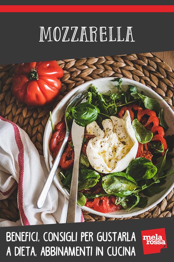 mozzarella: proprietà, usi in cucina, ricette