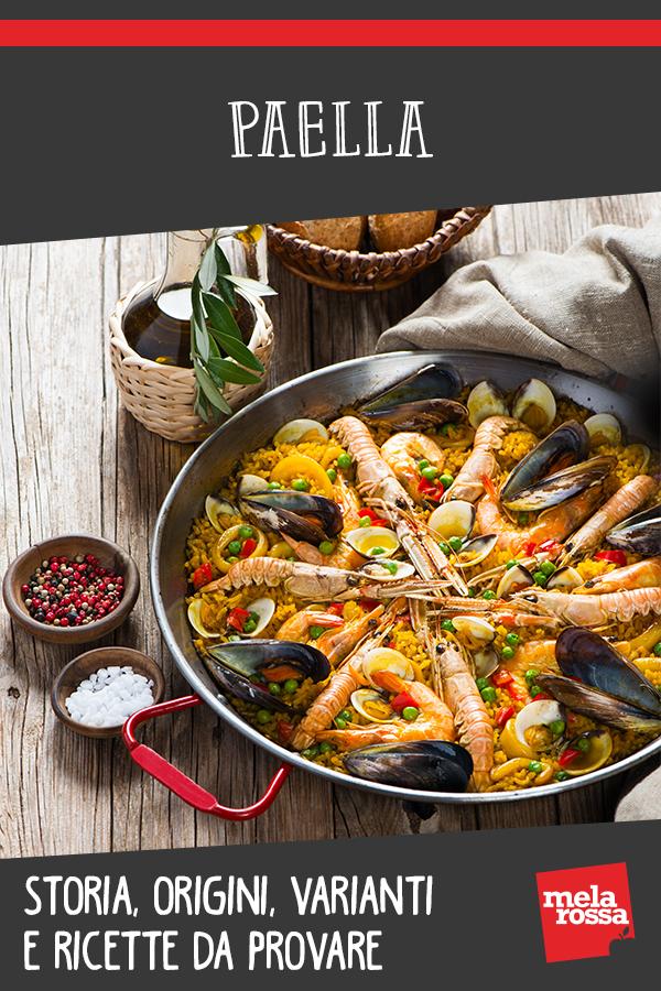paella origini varianti ricette