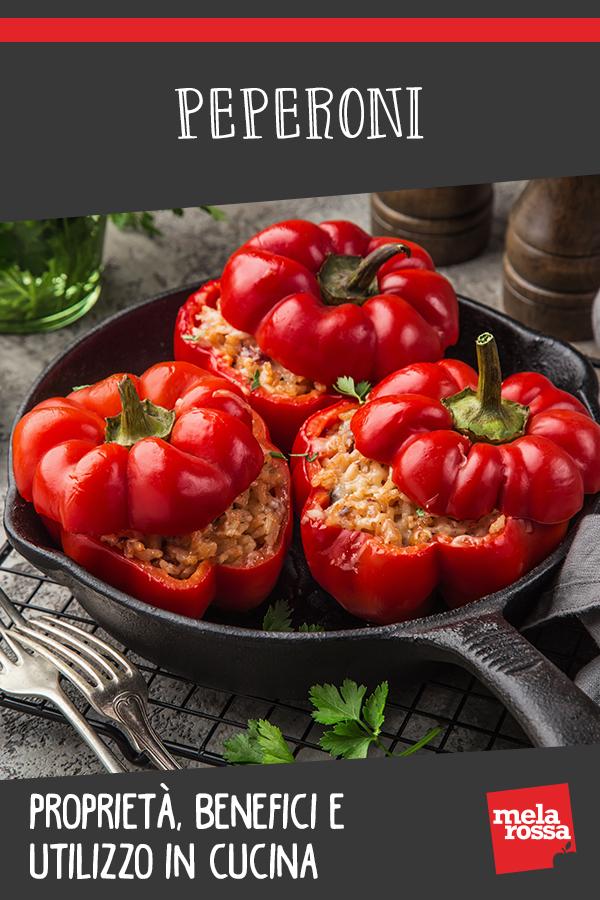 peperoni: valori nutrizionali e benefici e ricette