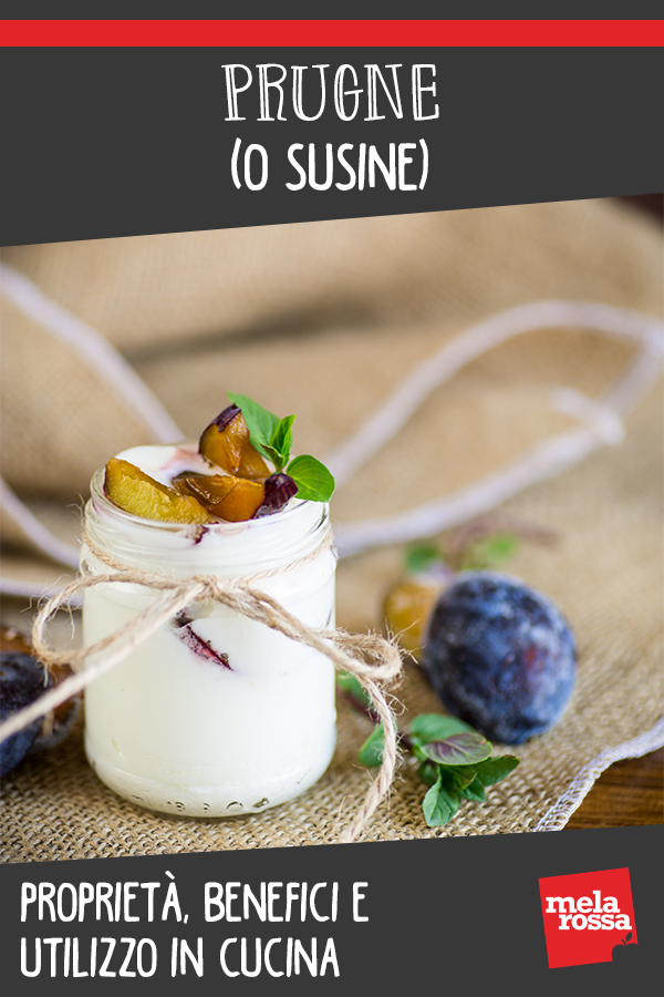 prugne o susine: calori, valori nutrizionali, benefici e usi in cucina