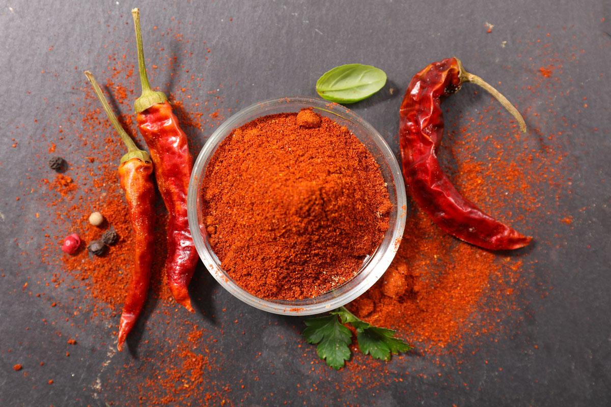 spezie elenco: paprika