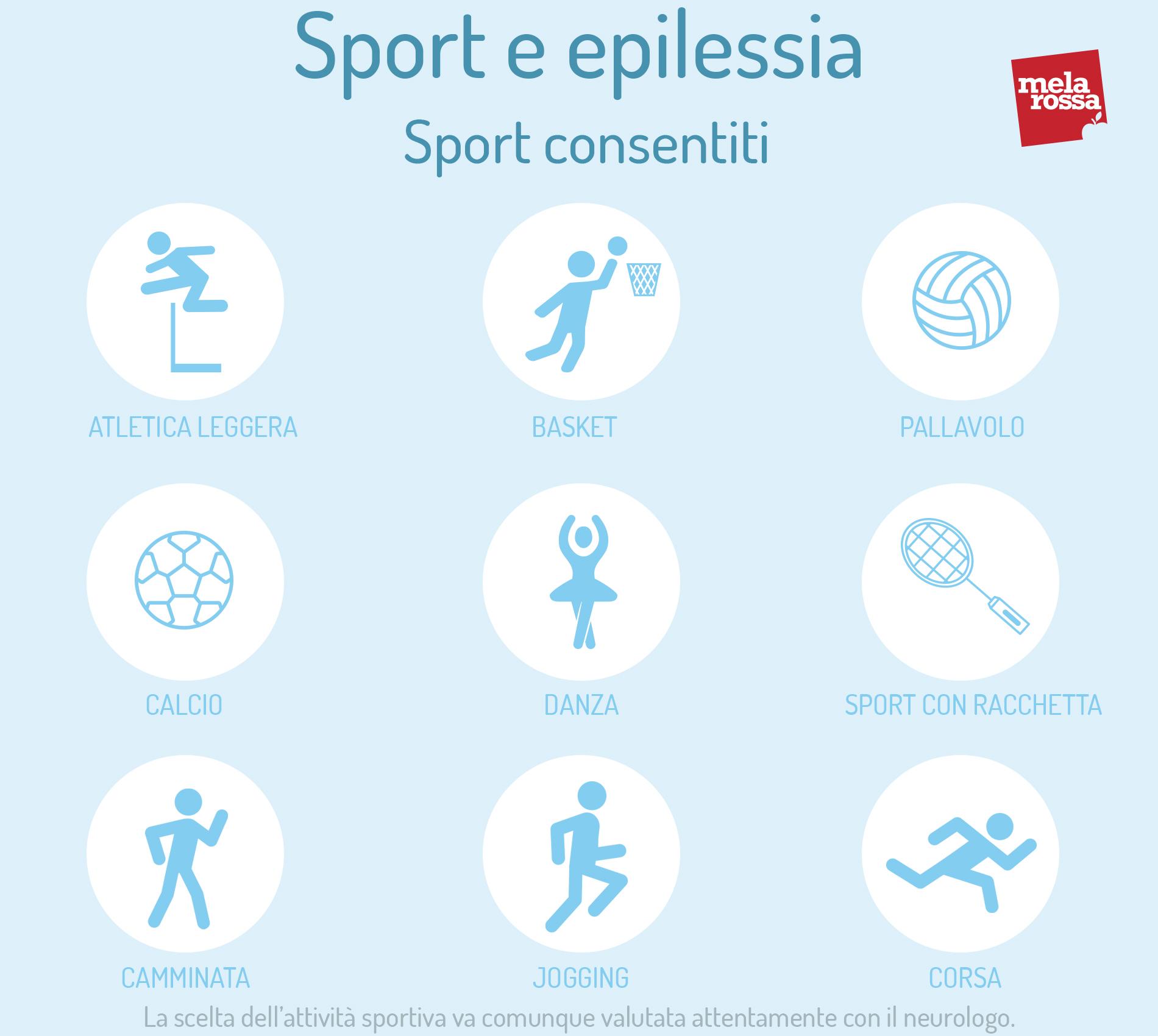 sport e attacchi epilettiche: che sport fare