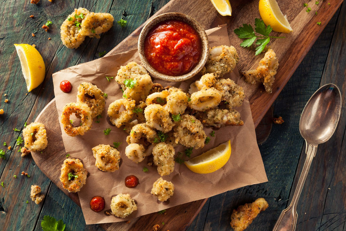 tapas frittura di calamari
