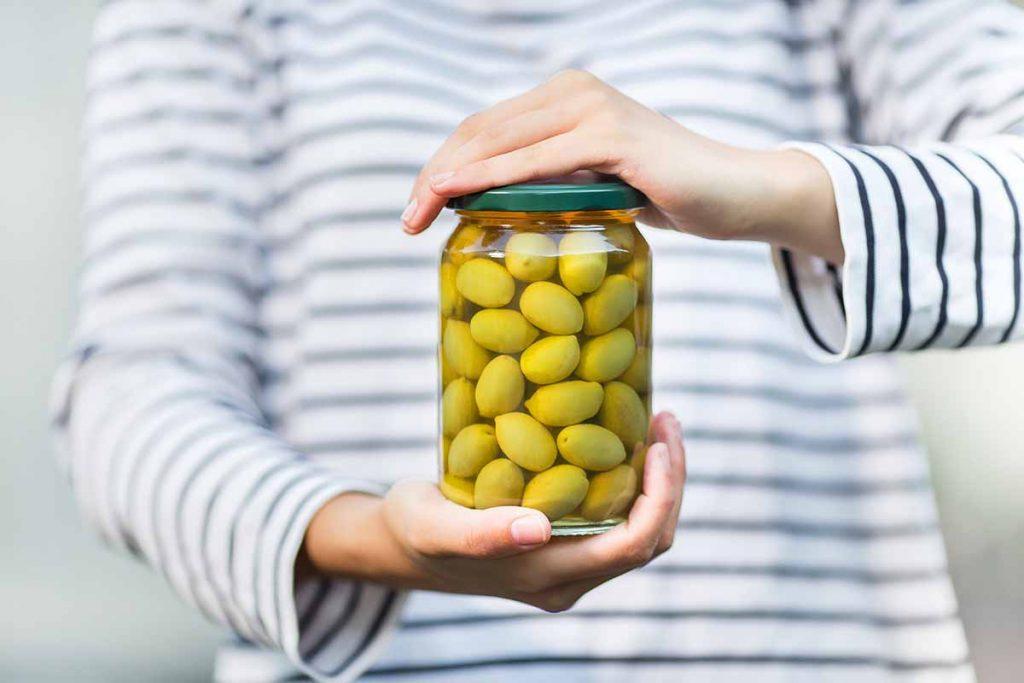 tapas olive in salamoia