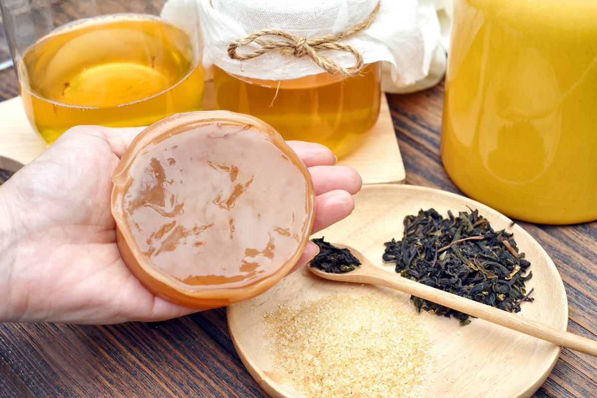 kombucha tè: la ricetta