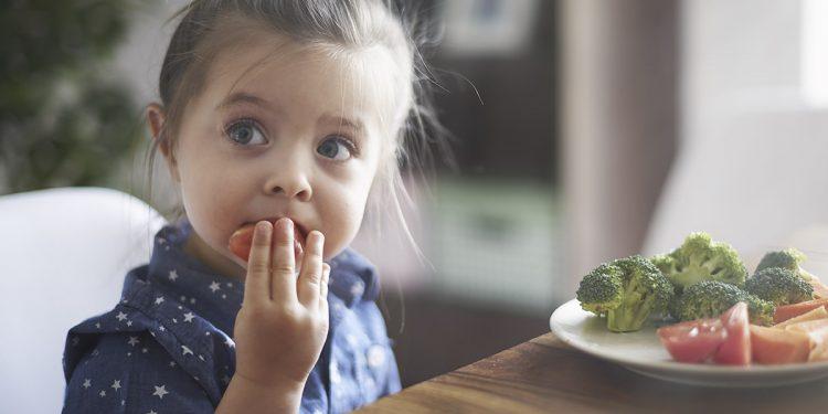 cibo sano per i bambini