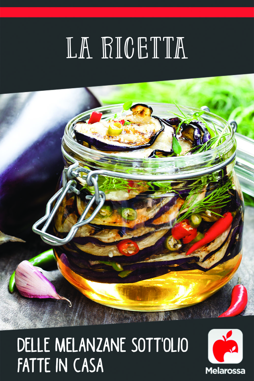 ricetta melanzane sott'olio