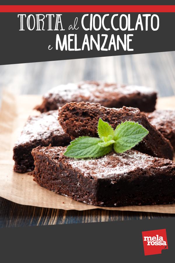 torta al cioccolato e melanzane: un dolce sano e originale per i bambini