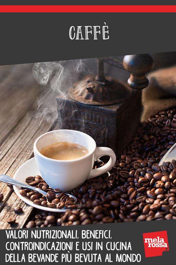 Caffè: valori nutrizionali, benefici, quando fa male e ricette
