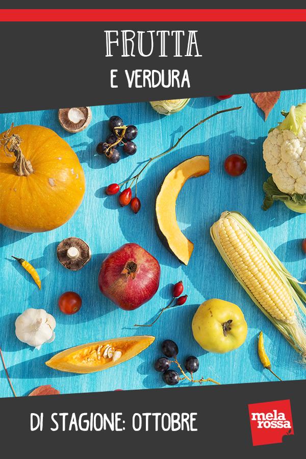 Frutta e verdure di ottobre: la guida completa
