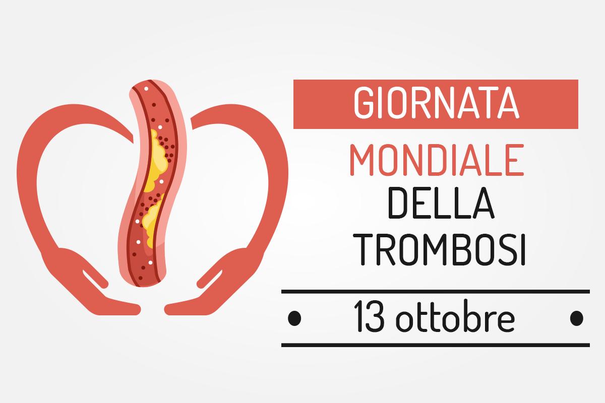 trombosi: giornata mondiale, 13 ottobre