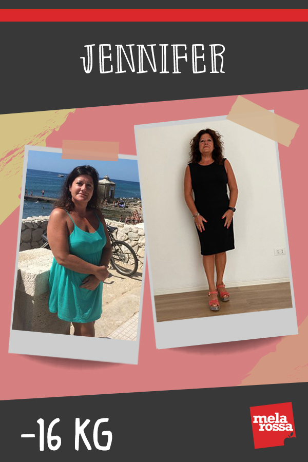 testimonial Melarossa Jennifer 16 kg