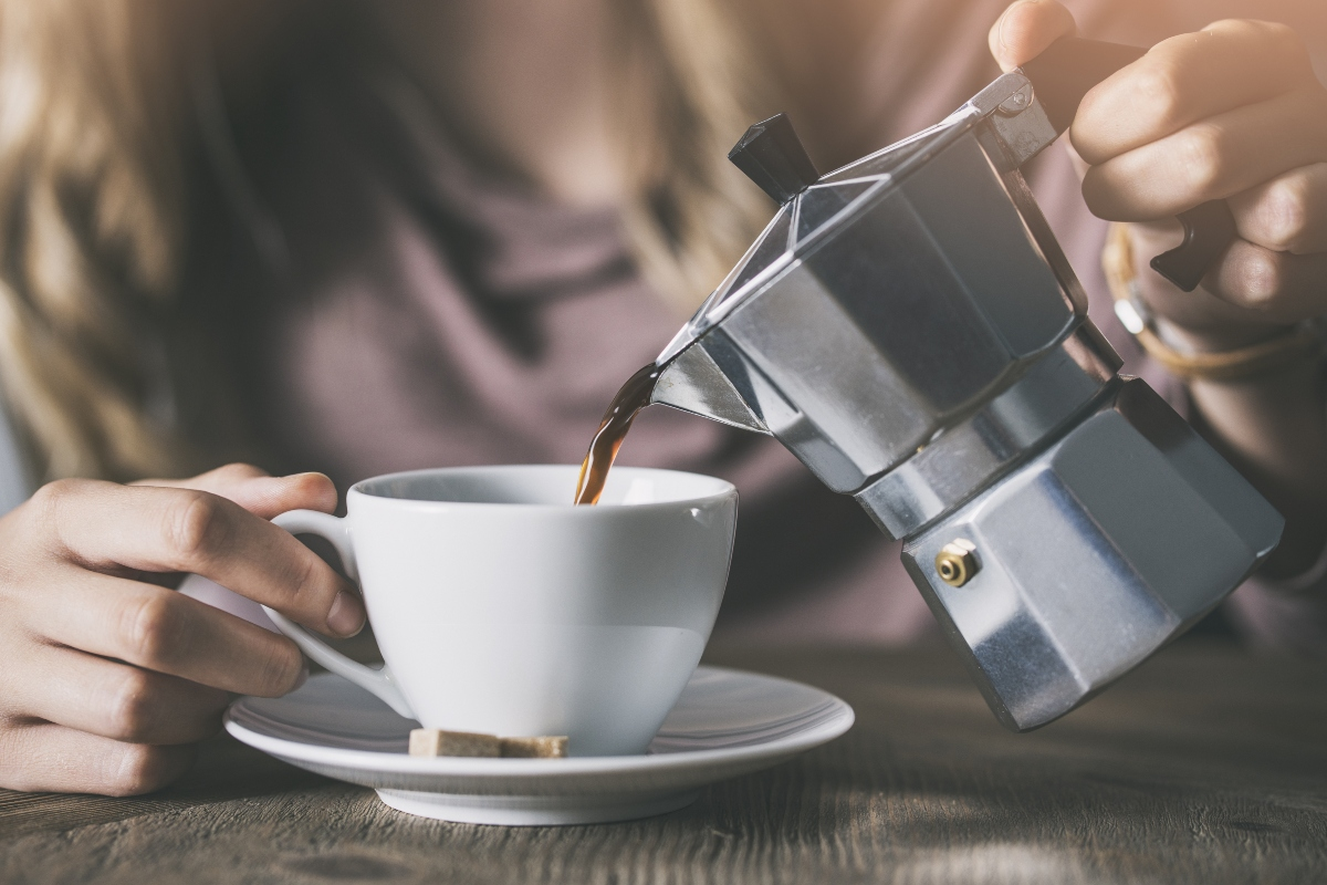 modi per bere caffè