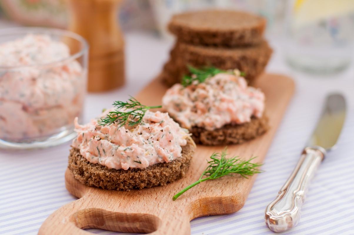aneto: patè di salmone