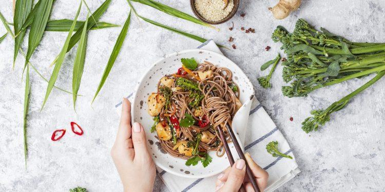 spaghetti di soia a dieta