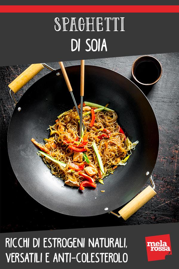 Spaghetti di soia: alimento sana da inserire nella tua dieta