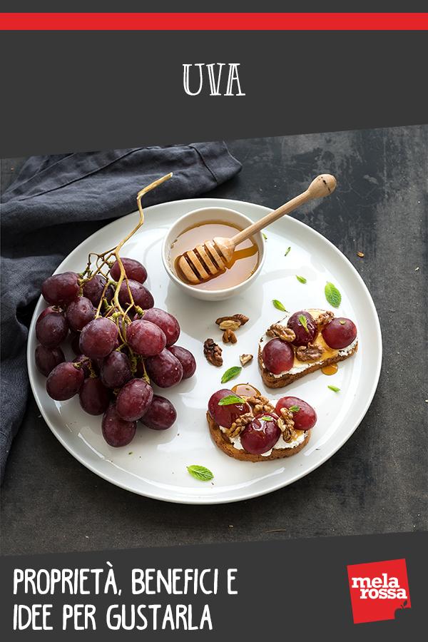 uva: benefici, valori nutrizionali e ricette