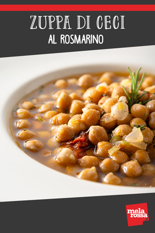 zuppa di ceci al rosmarino: ricetta salutare da mangiare a dieta