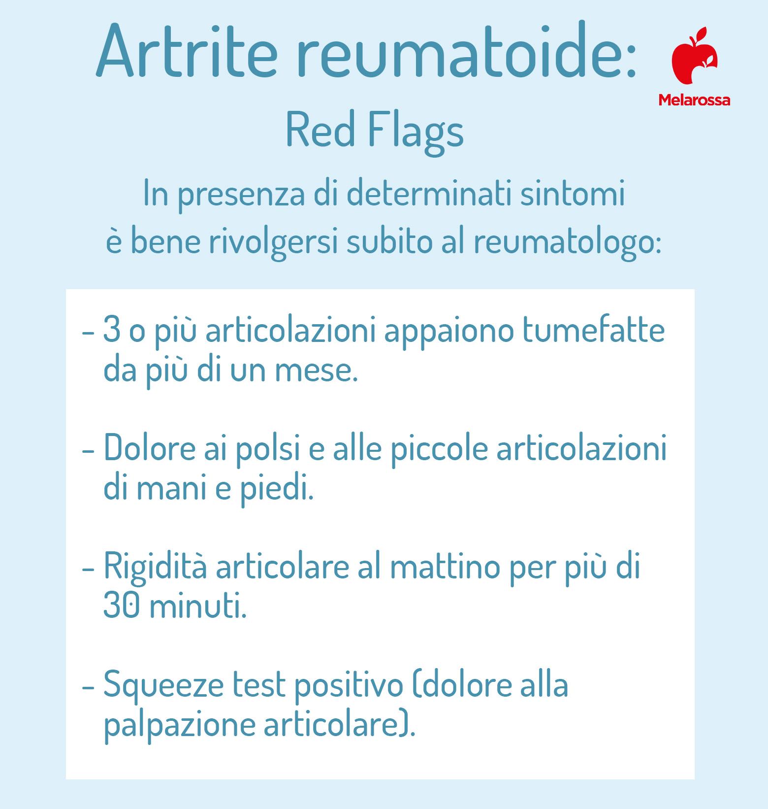 artrite reumatoide: quando consultare il reumatologo