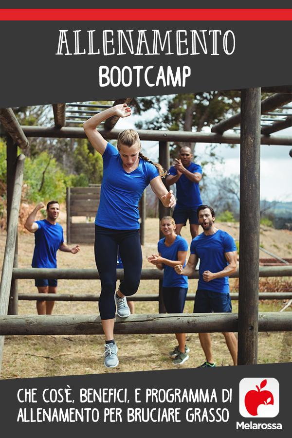 bootcamp allenamento pin