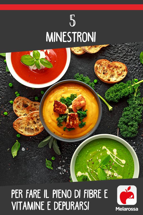 minestroni ricette per depurarsi