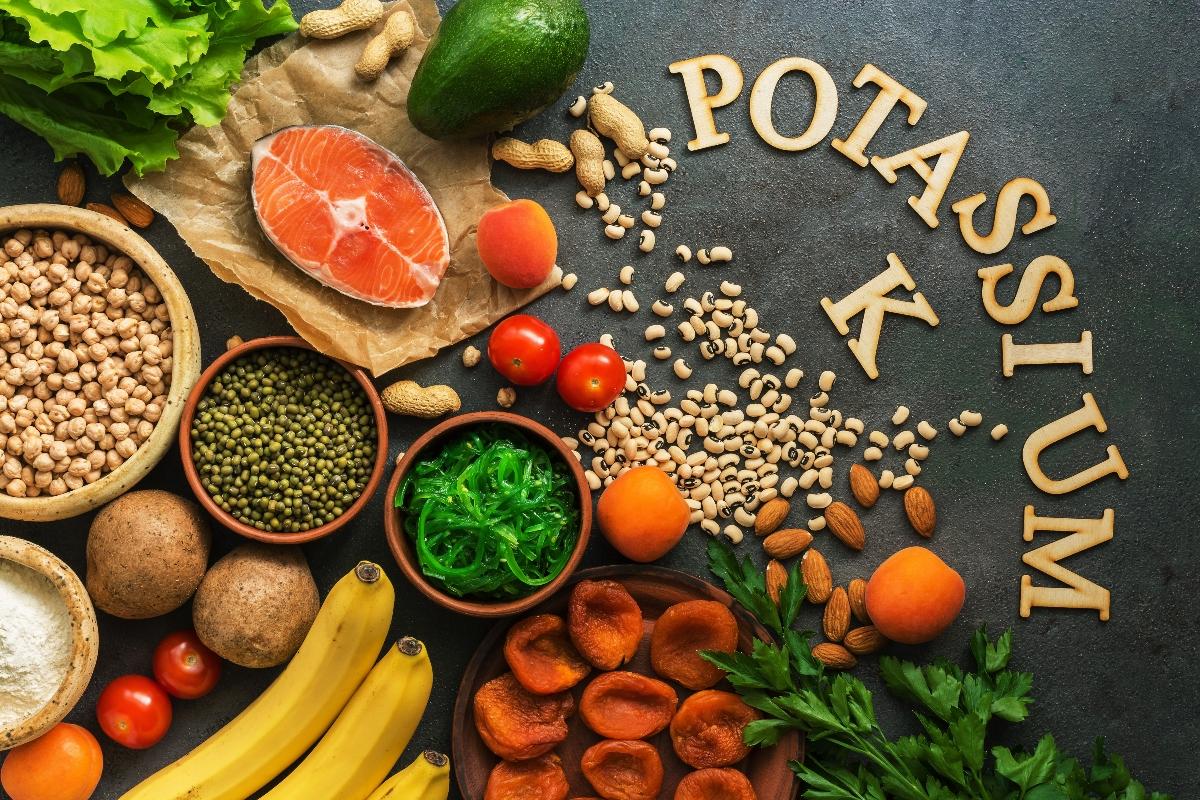 cosa mangiare in caso di potassio alto e basso