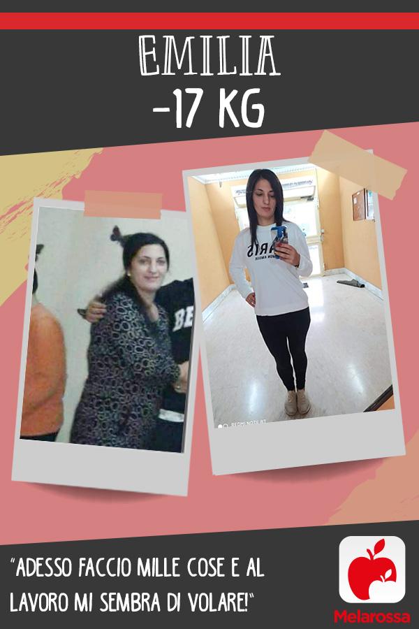 testimonial Melarossa Emilia 17 kg