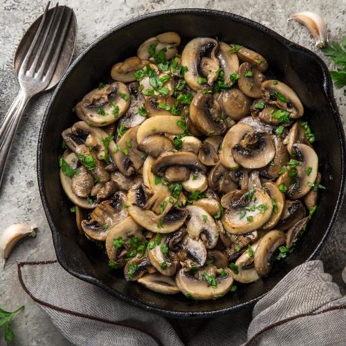 funghi arrostiti ricetta
