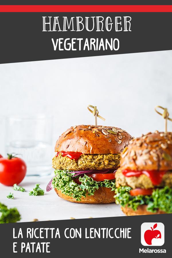 hamburger vegetariano: ricetta da fare in casa