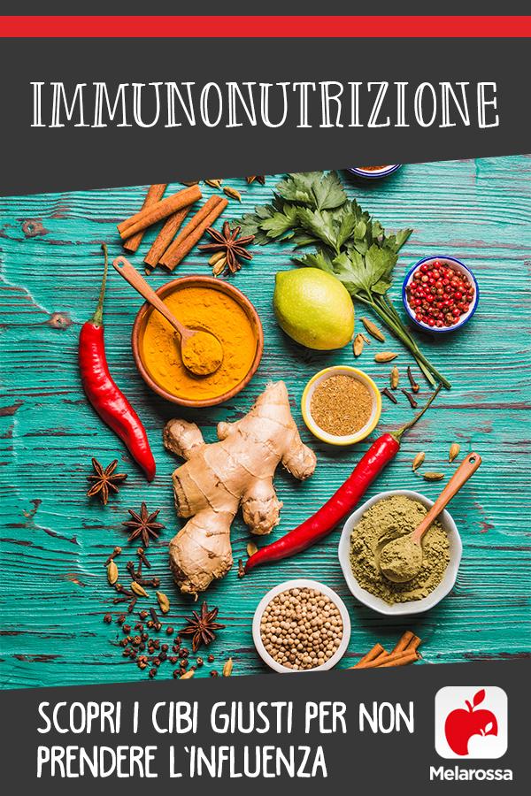Immunonutrizione: cibi e dieta per prevenire influenza