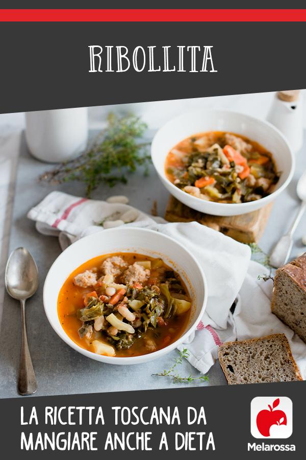 ribollita: ricetta toscana da mangiare a dieta