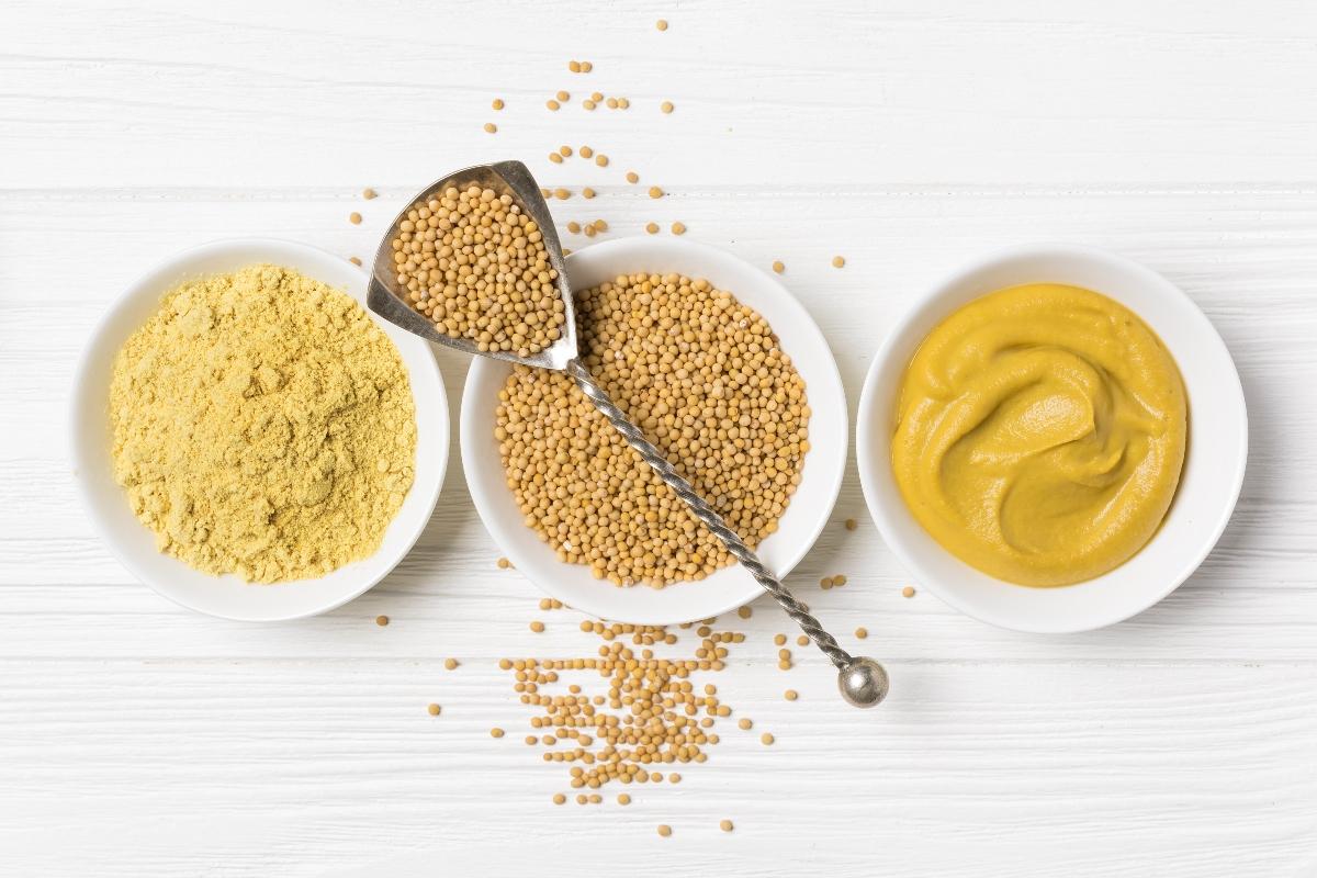 senape: come consumarla
