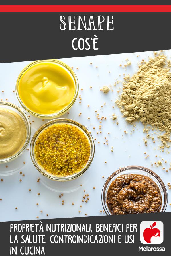 senape: cos'è, valori nutrizionali, benefici e usi