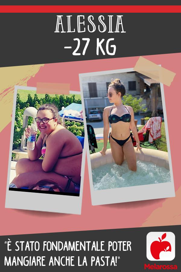 testimonial Melarossa Alessia 27 kg