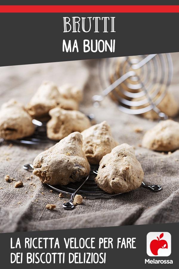 biscotti brutti ma buoni: ricetta veloce