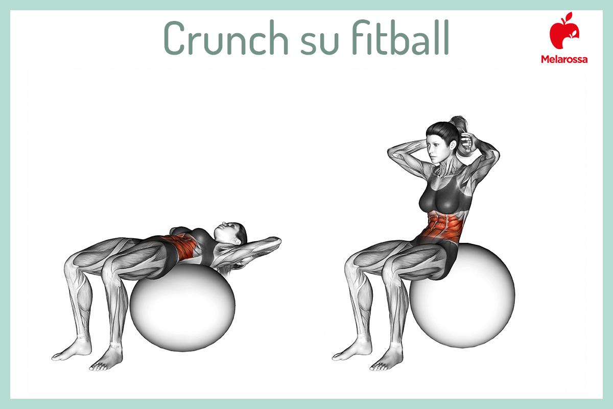 crunch su fitball
