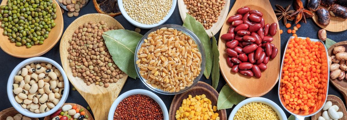 dieta per il colesterolo alto: consumo legumi