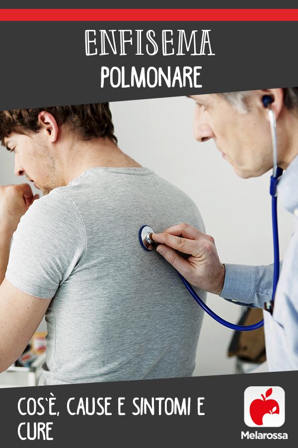 enfisema polmonare: cos'è, cause, sintomi e cure