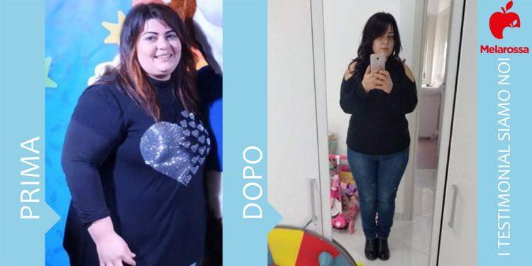dieta melarossa federica 20 kg