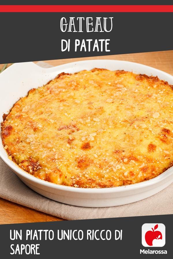 gateau di patate: una ricetta sana
