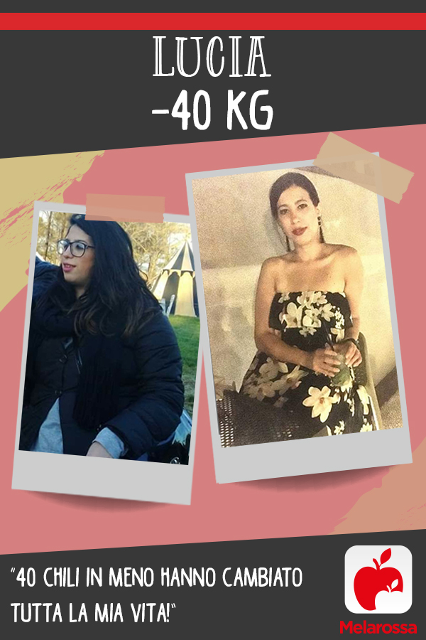 testimonial Melarossa Lucia 40 kg