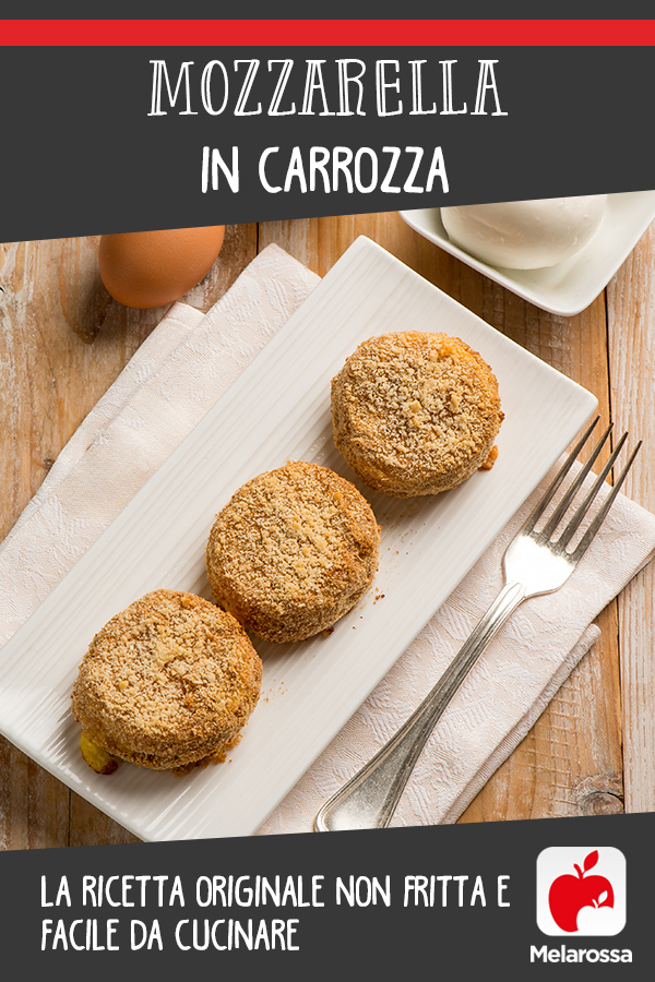 Mozzarella in carrozza: pinterest