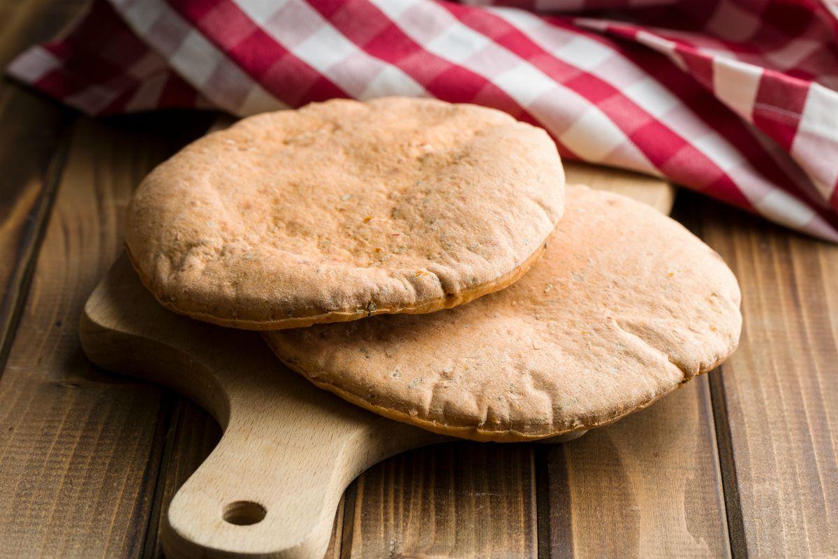 Pane azzimo fatto in casa