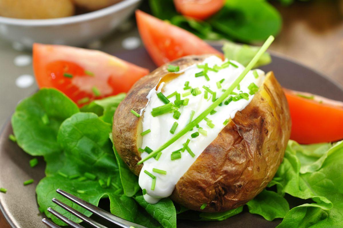 patate ripiene al forno vegetariane