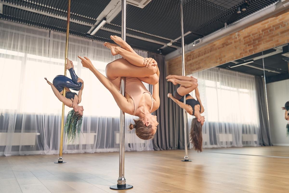 pole dance: allenamento